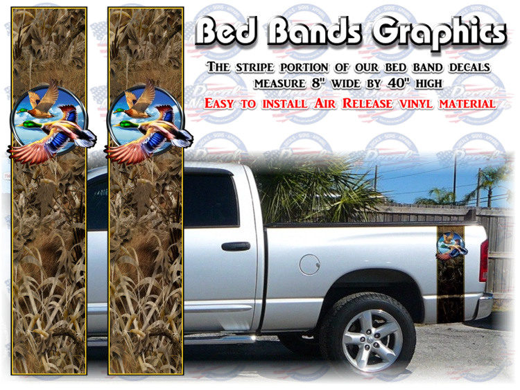 bed band camo truck bed accents