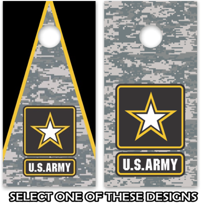 Us Army Cornhole Board Decal Wrap
