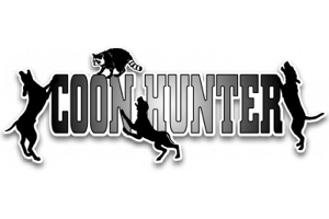 Coon Hunter Dogs Coonhound Decal Sticker Coon Hound