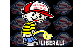 make american great again pee boy liberals