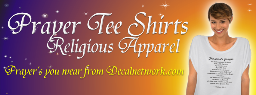 religious prayer apparel shirts