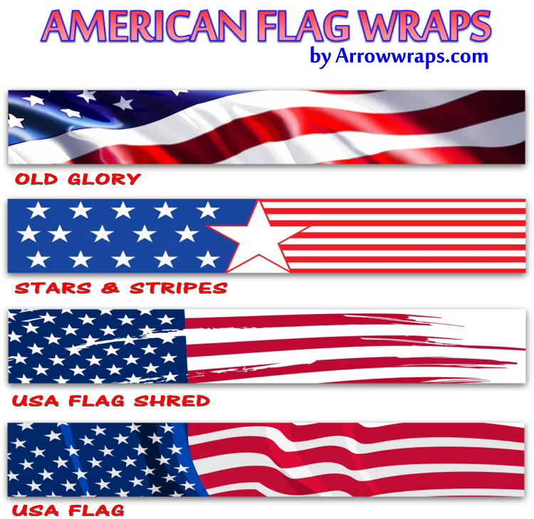 Arrow Wraps American Usa Designs
