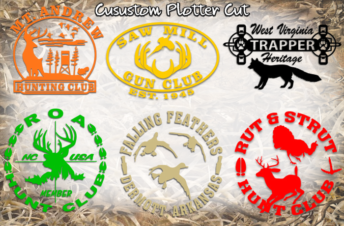 outdoor club decals