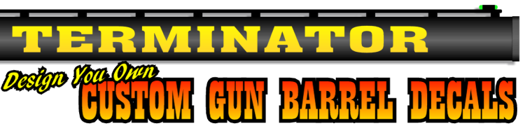 Gun Barrel Decals - Custom gun barrel stickersgun barrel decals
