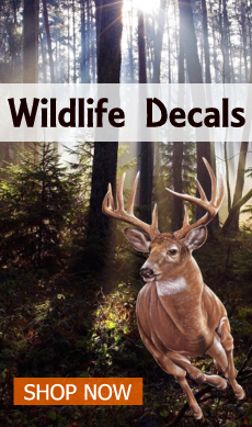 wildlife decals