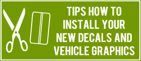 how to install decals
