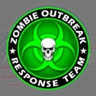 zombie out breake decal