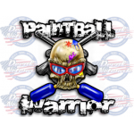 paintball vinyl decals