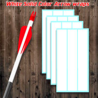 white solid color arrow wraps