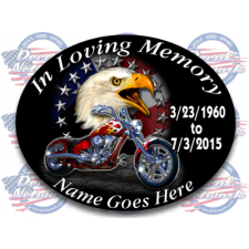 in loving memory decals