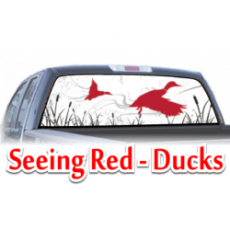 seeing red ducks