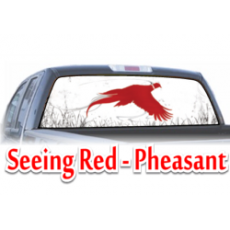 seeing red pheasant
