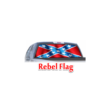 rebel flag confederate window graphic
